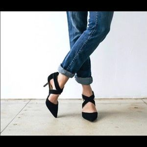 Sole Society Tamra Charcoal Heels